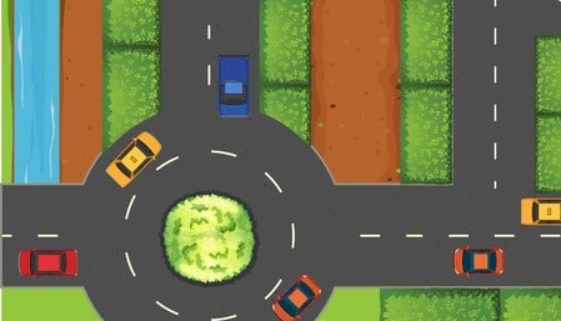 Unfall kreisverkehr