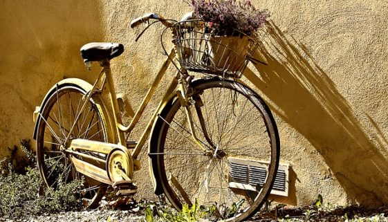Fahrrad abstellen - Verkehrssicherungspflicht