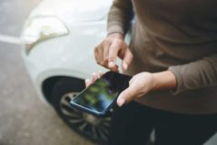 Verkehrsunfall – Nutzungsausfallentschädigung für unfallbeschädigtes Smartphone