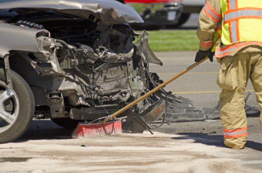 Verkehrsunfall - Reinigungskosten für eine Ölspur