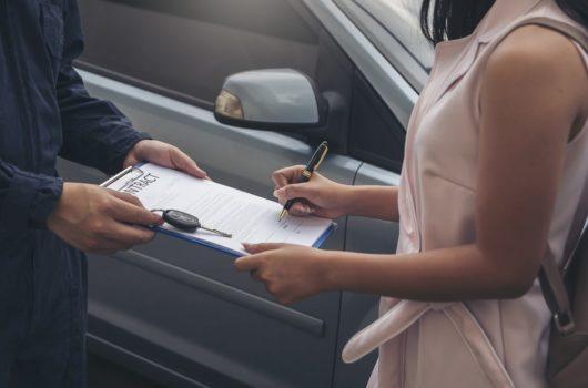 Verkehrsunfall - ersatzfähige Mietwagenkosten